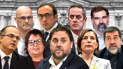 presos, cataluña, golpistas, cárcel, psoe, erc,