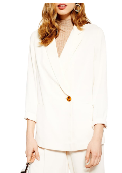 5 Recent Fall Purchases Under $100.00 - Affordable by Amanda - Topshop Rita Blazer - Nordstrom Fall Style