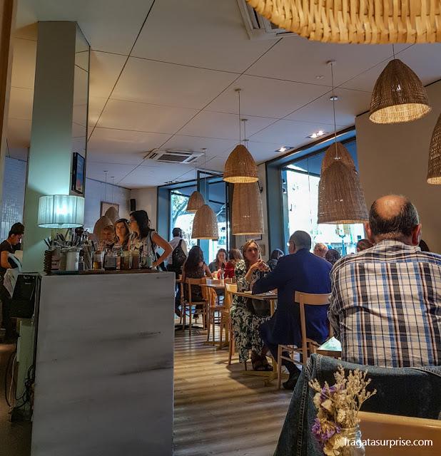 Buenas Migas, café no Passeig de Gràcia, barcelona