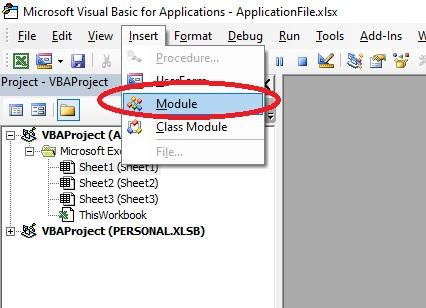Select module