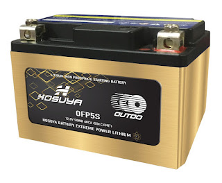 Arias Motors presenta Batería de Lithium,  ecológica, ligera y de alta gama