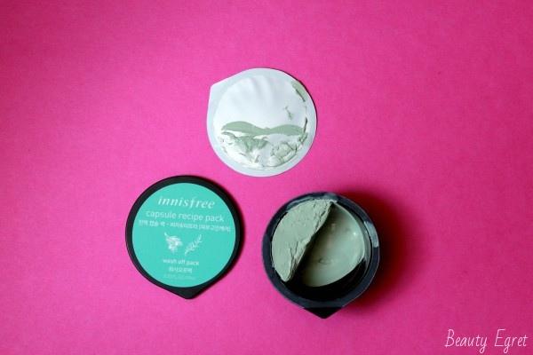 Капсульная маска Innisfree - масло чайного дерева + биджа