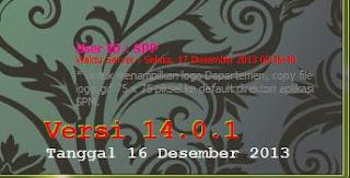 Update Aplikasi SPM 2014 Versi 14.0.1