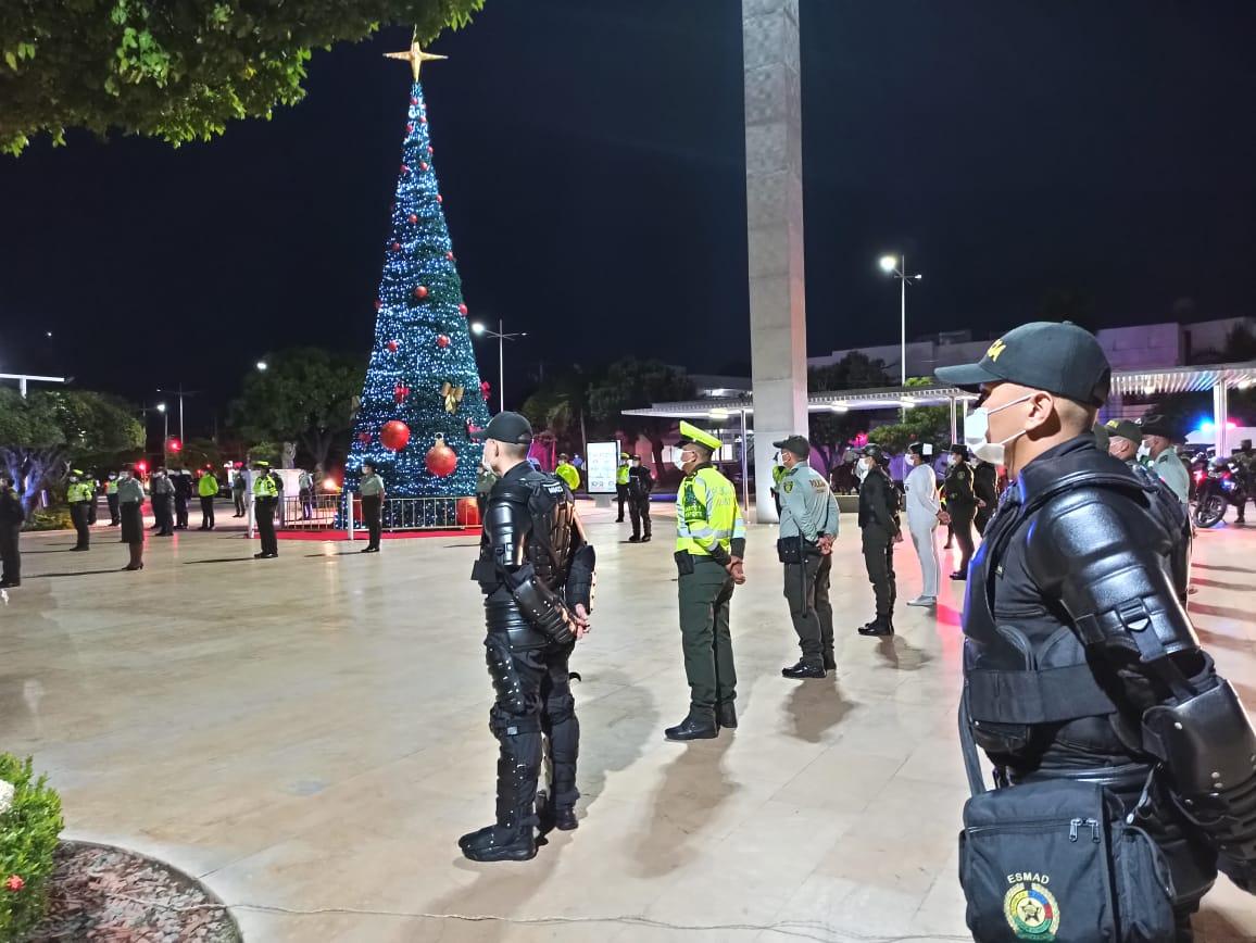 https://www.notasrosas.com/ Departamento de Policía Cesar lanza Plan Navidad, en Valledupar