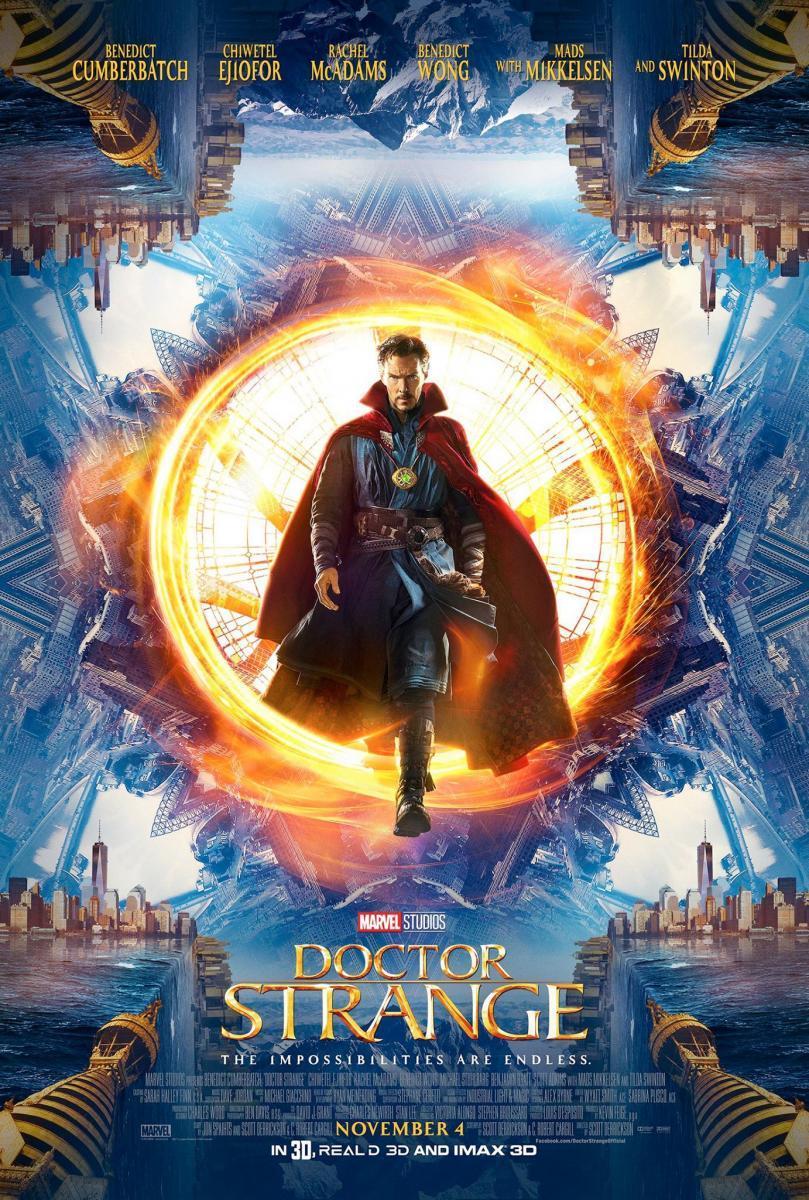 Download Doctor Strange (2016) Full Movie in Hindi Dual Audio BluRay 720p [1GB]