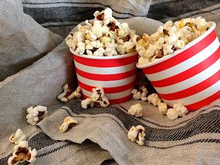 Slaný popcorn