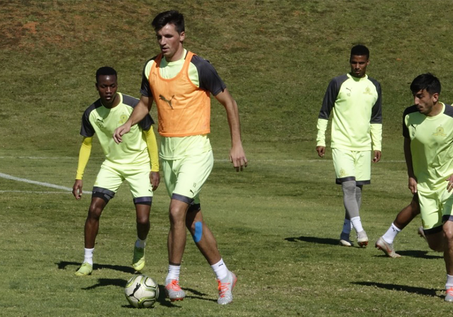 Mamelodi Sundowns FC training