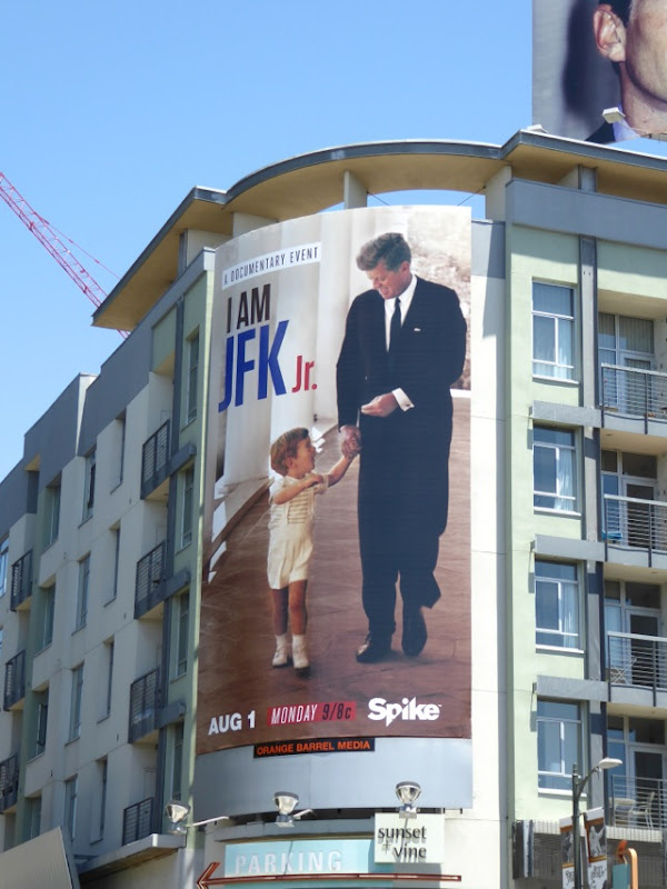 I am JFK Jr documentary billboard