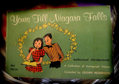 yours till niagra falls scholastic vintage book