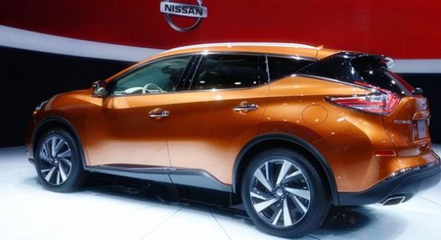 2018 Nissan Murano Redesign, Changes