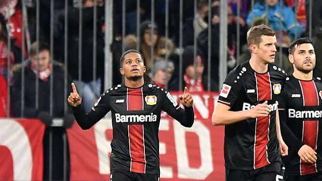 """Video Bayern Munich 1-2 Leverkusen: Thi nhau """"chân gỗ"""", cú đúp quyết định"""