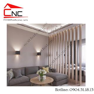 Trang trí không gian nhà bằng vách ngăn gỗ cắt cnc đẹpNhững điều cần lưu ý khi trang trí không gian