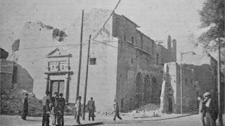La antigua iglesia se derruyó hasta los cimientos