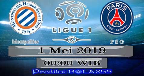 Prediksi Bola855 Montpellier vs Paris Saint Germain 1 Mei 2019