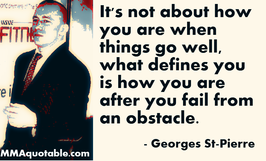 Overcoming Failure Quotes: Motivational Quotes With Pictures (many MMA & UFC