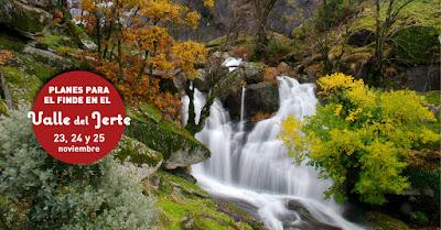 Planes para disfrutar el Valle del Jerte del 23 al 25 de noviembre de 2018