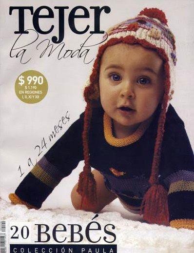 Revista tejer la moda 20 para niños