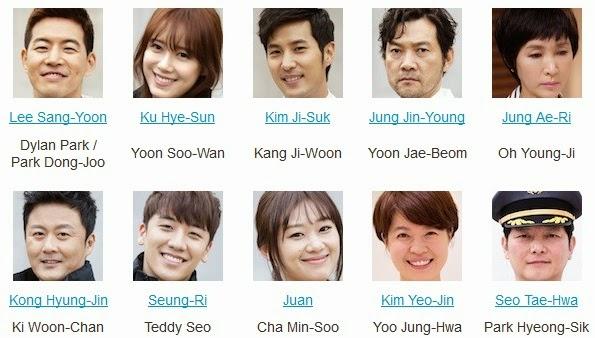 Lee Sang-Yoon, Ku Hye-Sun, Kim Ji-Suk, Jung Jin-Young, Jung Ae-Ri