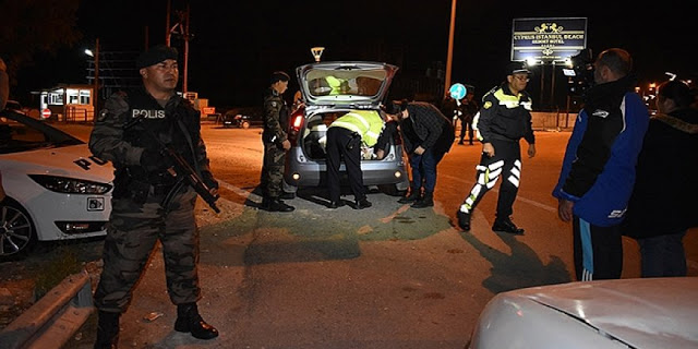 8 arrested in Lefkosa, Girne and Magusa for residing in north Cyprus illegally
