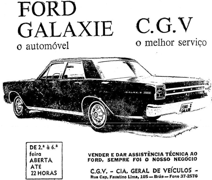 saran noticias e variedades   ford galaxie