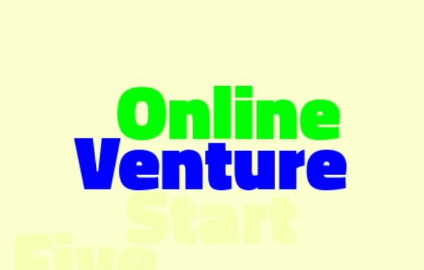 Five things you need for starting your online venture