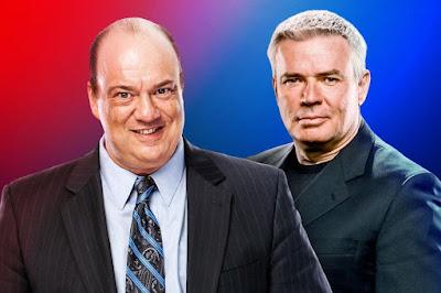 عاجل: WWE تعين كل من بول هيمان و إيريك بيشوف كمدراء تنفيذيين لعرض الرو وعرض سماك داون على التوالي