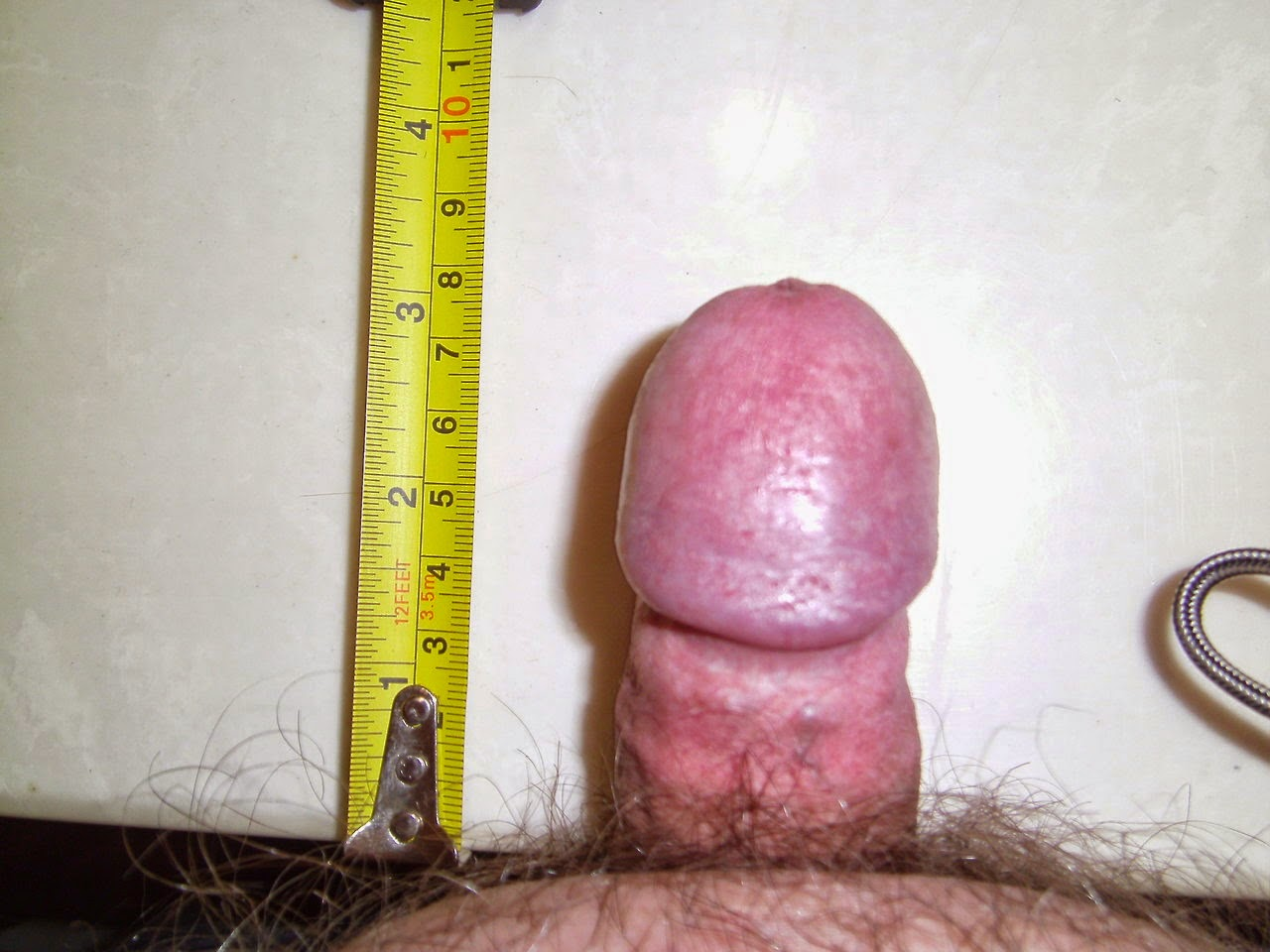 erect 3.5 inches micropenis