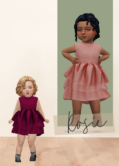 - ̗̀ Rosie Dress ̖́- (TS4)