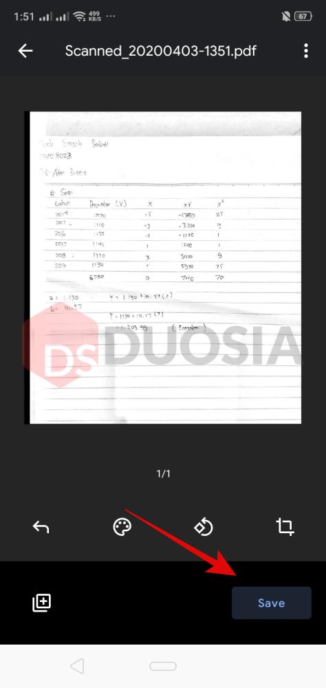 cara scan dan edit dokumen di android