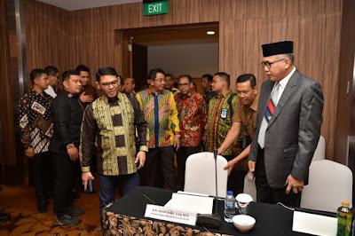 Pemerintahan Aceh dan Forbes DPR/DPD RI Sepakat Perjuangkan Perpanjangan Dana Otonomi Khusus