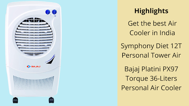 Best Air Cooler in India 2021 with price
