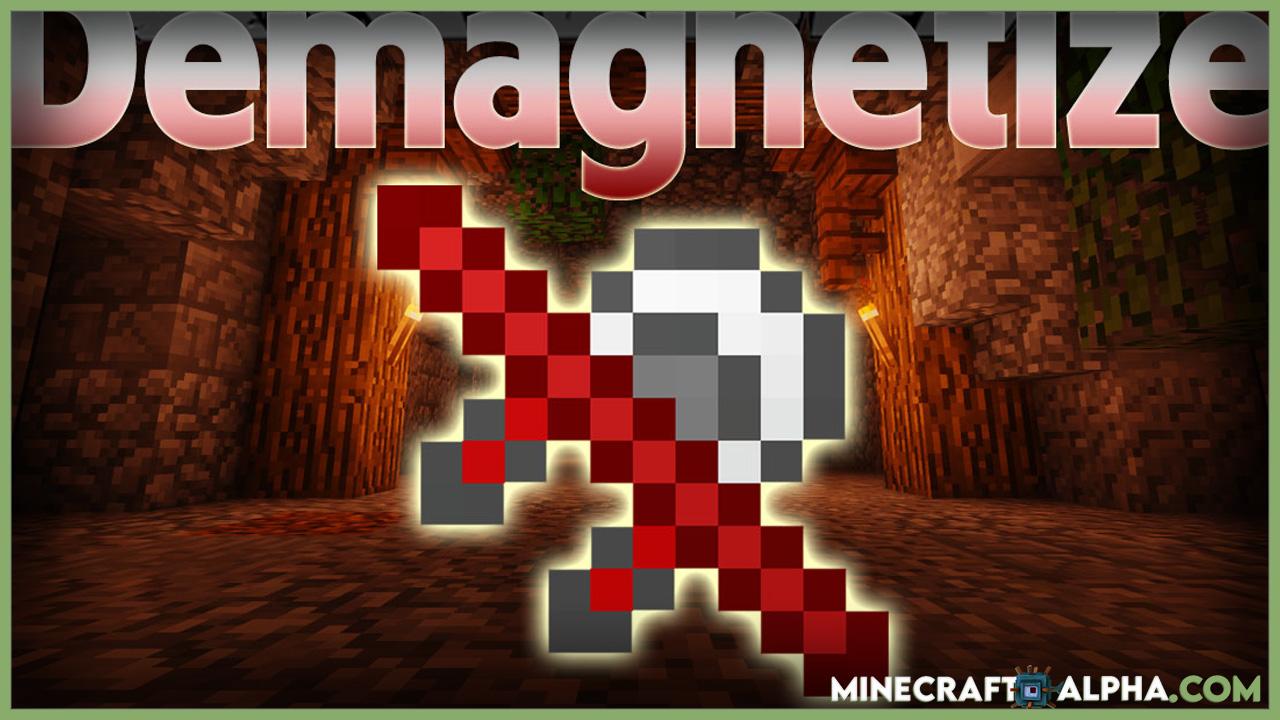 Minecraft Demagnetize Mod 1.16.5 (Stop Item Magnets)