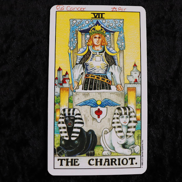 the chariot major arcana tarot card