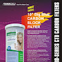 "PurePro® USA 10"" Big Blue Carbon Block Filter CTO  - PurePro CTO-104505"