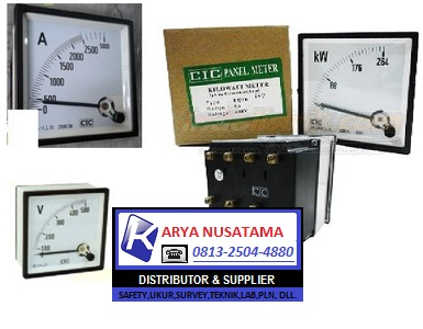 Ready Stok Panel Meter 0 - 2500/5 A Volt Meter 500V di Bandung