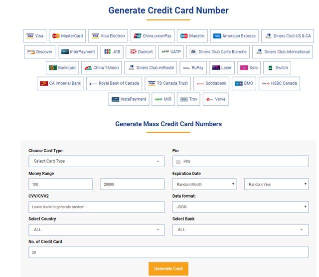 generate-credit-card-number