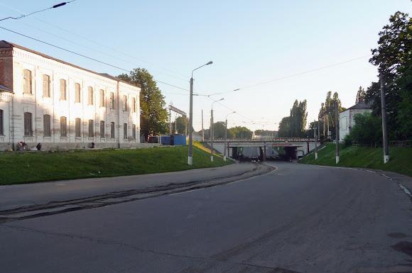 Конотоп. Трамвайный путь по улице Богдана Хмельницкого