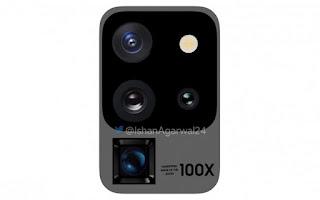 Samsung S20 Ultra modul kamera