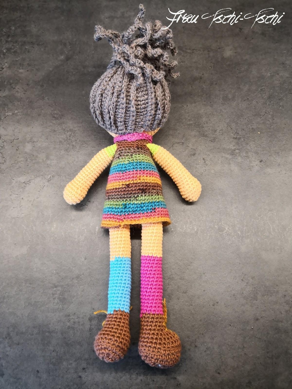 H\u00e4kelanleitung Amigurumi Puppe LISA