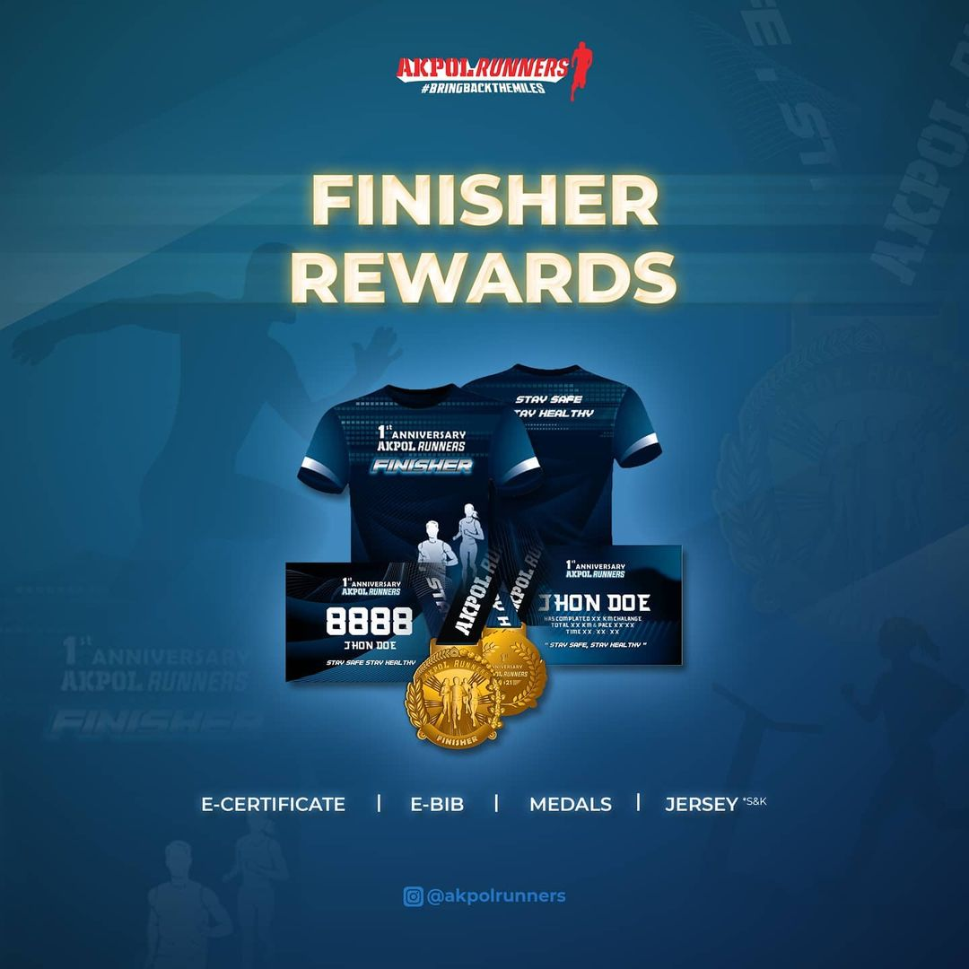 Medali � Akpol Runners 1st Anniversary • 2021