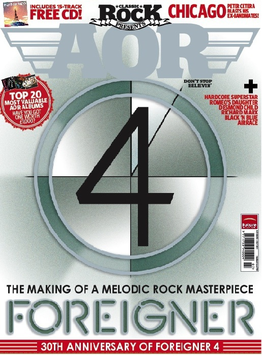Classic Rock Presents AOR Issue 3 - reviews of FM at Sweden Rock and Download & Rock For Japan CD