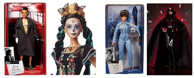Новинки Барби: Роза Паркс, Салли Райд, Барби День мертвых и Звездные войны