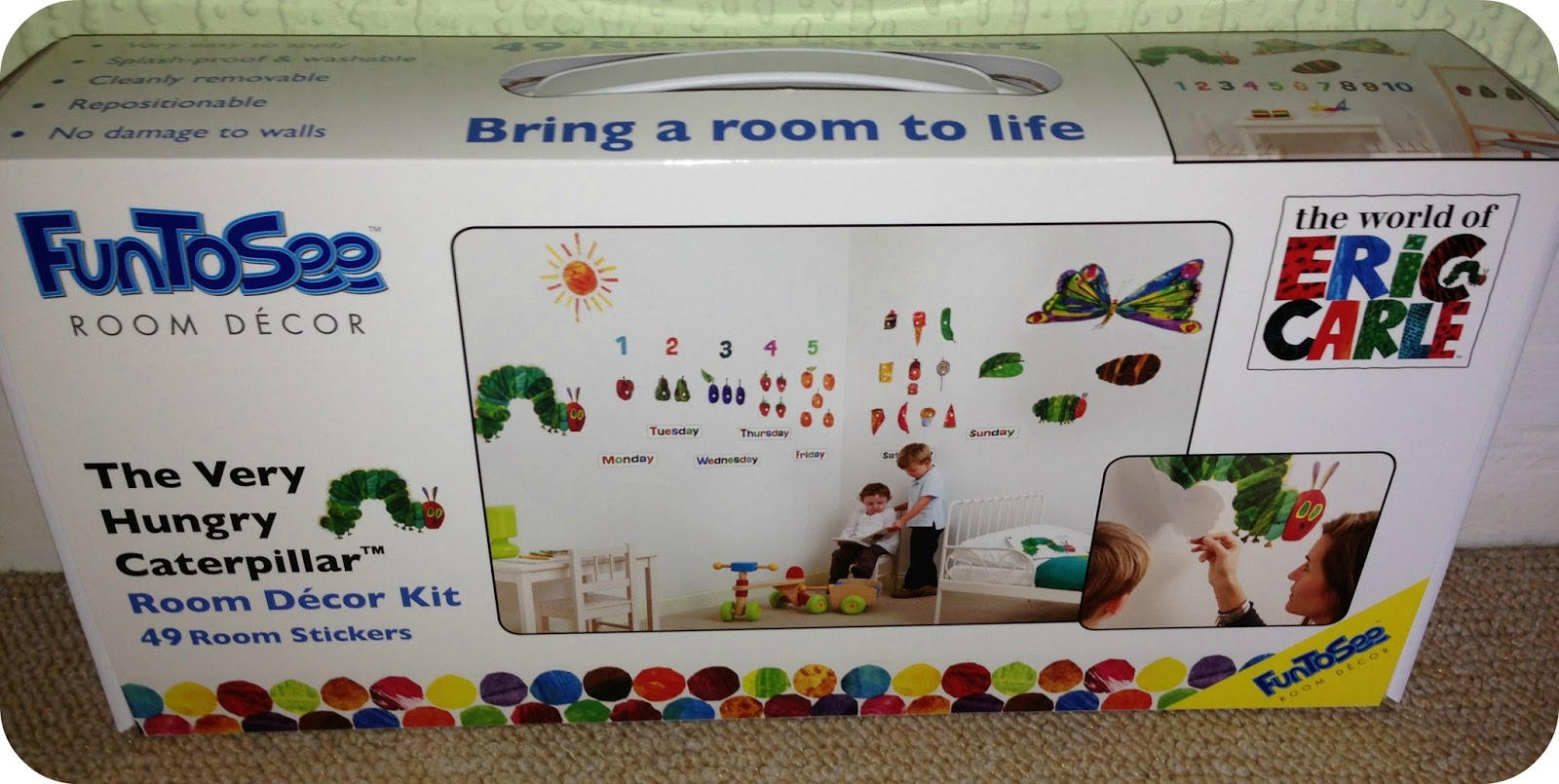 Very Hungry Caterpillar Wall Stickers Life Unexpected August 2013