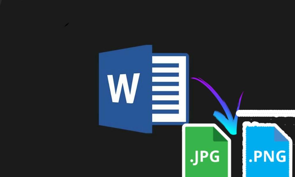 أسهل طريقة لـ حفظ ملف وورد كصورة Convert Word Documents Into Images