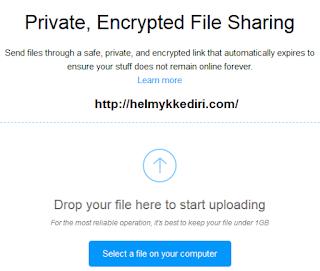 Berbagi file dengan send by firefox