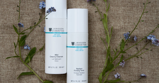 Умывание без пены: набор Janssen Perfect Cleansing Duo (mild creamy cleanser + radiant firming tonic)