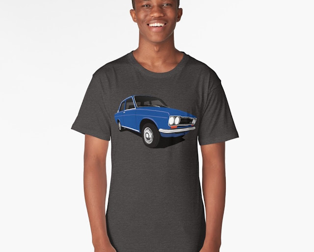Blue Datsun Bluebird 1600 510 t-shirt gift
