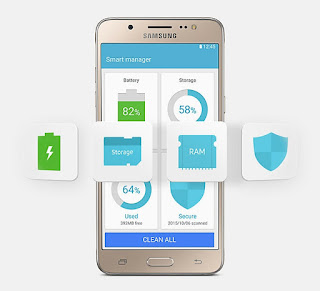 Kapasitas baterai dan memori Samsung Galaxy J5 2016 dan Samsung Galaxy J7 2016