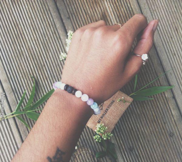 Bracelet tendance diffuseur My Roller Stone