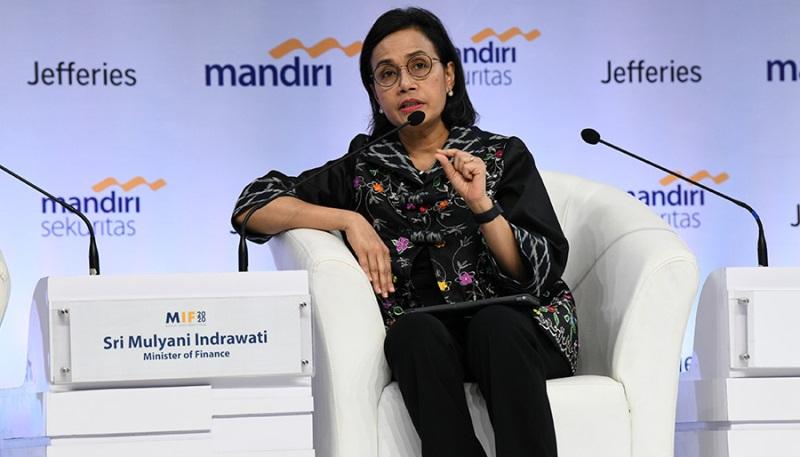 Menkeu Dalam Mandiri Investment Forum: Omnibus Law Diharapkan Tingkatkan Investasi